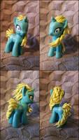 Elsa Custom Pony