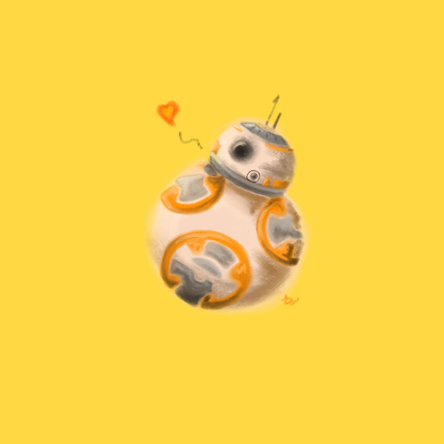 BB-8  by Name-of-a-Rose