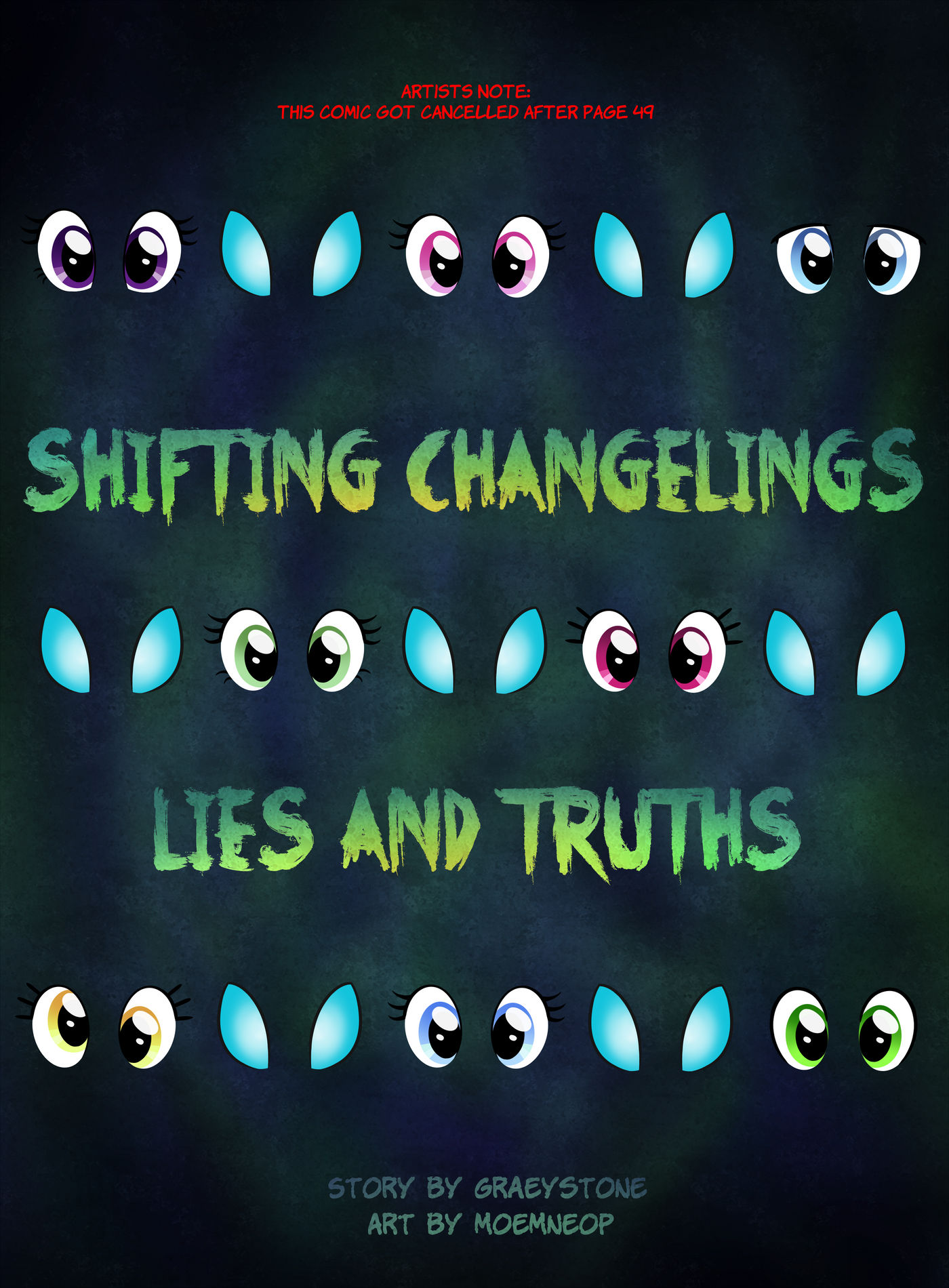 Shifting Changelings Lies and Truths 000 - Title