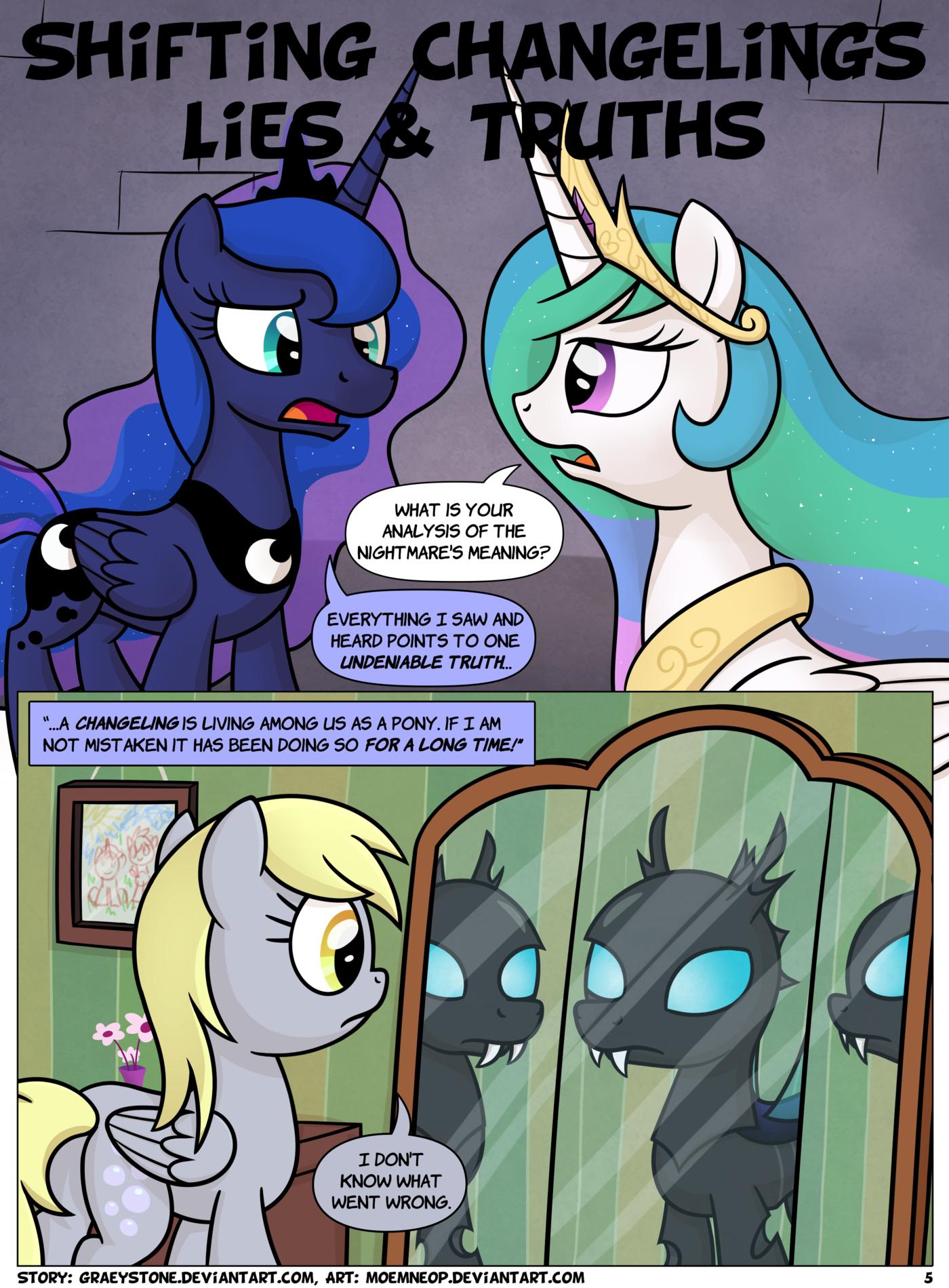 Shifting Changelings Lies and Truths 005 by moemneop