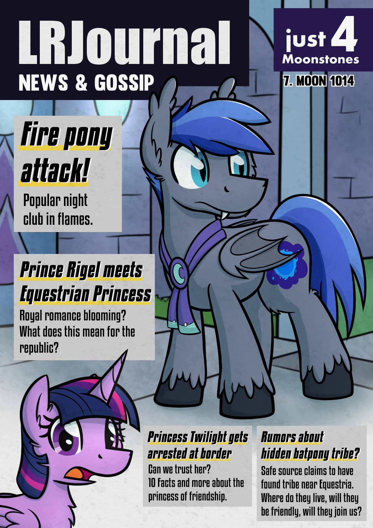 Lunar Republic Journal by moemneop