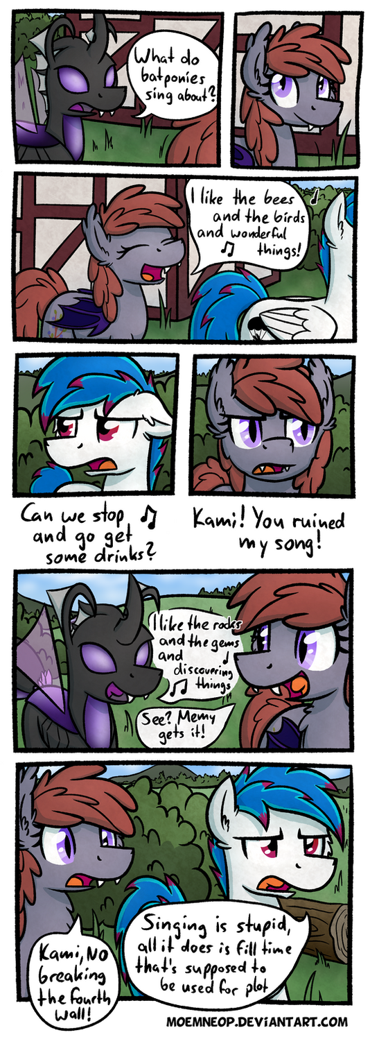 What do batponies sing about? by moemneop