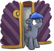 Coming out of the closet by moemneop