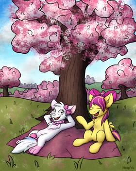 Akemi and Shimmer Rose