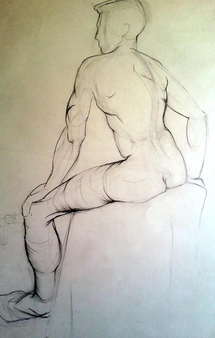 In Class Figure Drawing 8 by LouiseBahia