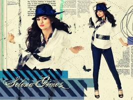 wallpaper selena Gomez by tatica883