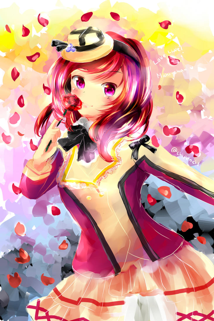 maki-chan (speed painting video) by chiPencil
