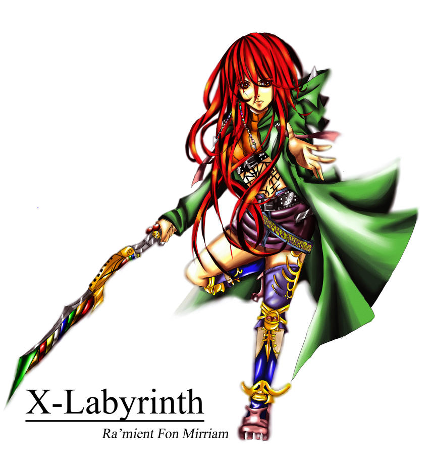 x-labyrinth: Ra'mient Fon Mirriam by melted-ices