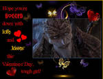 A Valentine from the Bog King by SauronGorthaur9