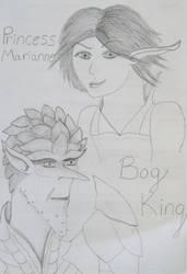 Bog and Marianne by SauronGorthaur9