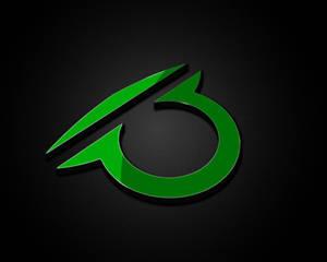 3-D symbol logo