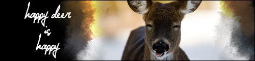 happy deer sig