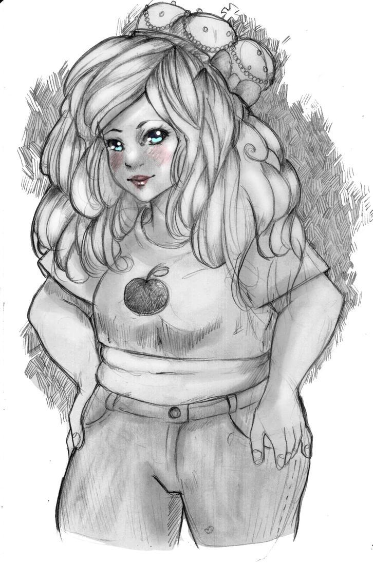CHUBBY APPLE by RachelLevitte