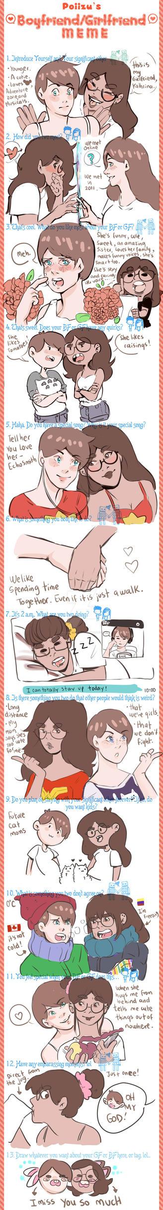 Girlfriend meme by RachelLevitte