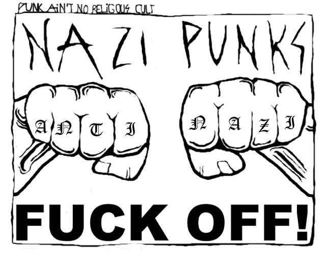 Punks Againts Nazi's by Anti-Nazi