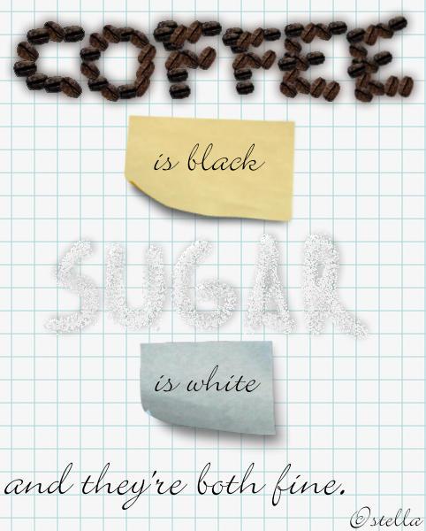 Coffee and Sugar by Anti-Nazi