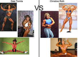 Dale Tomita vs Christine Roth - Semi Finals by tom091178