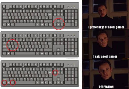 keys for gamer