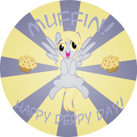 Happy Derpy Day! by Spectty