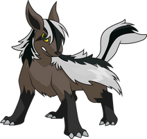 Spectty as a pokemon by Spectty