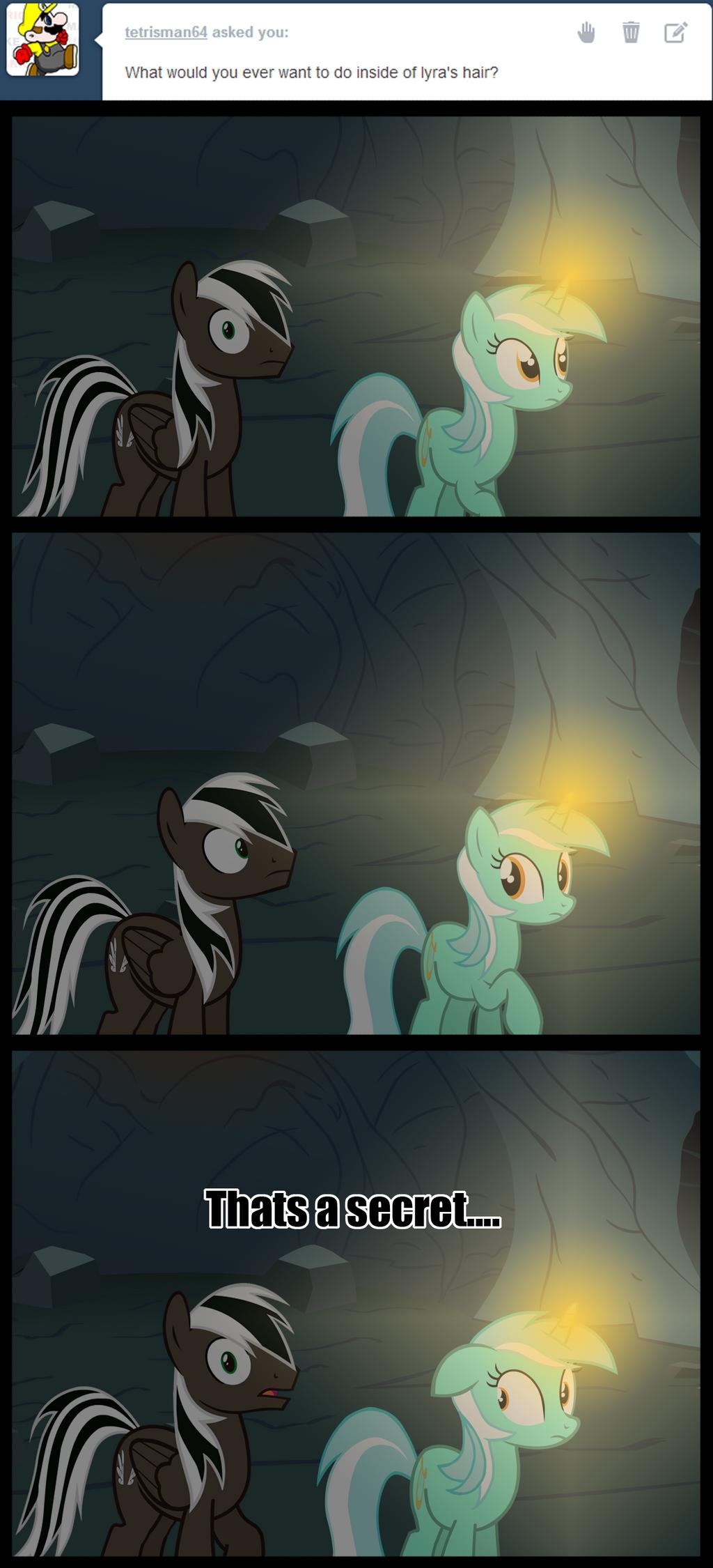 Secret, but fun... by Spectty