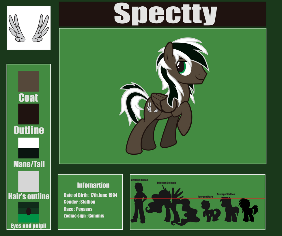 Spectty's reference sheet by Spectty
