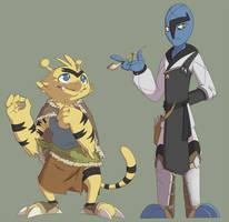 Ima and Raban by whmSeik