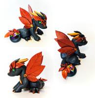 Elemental Earth Dragon: Autumn design by Shemychan