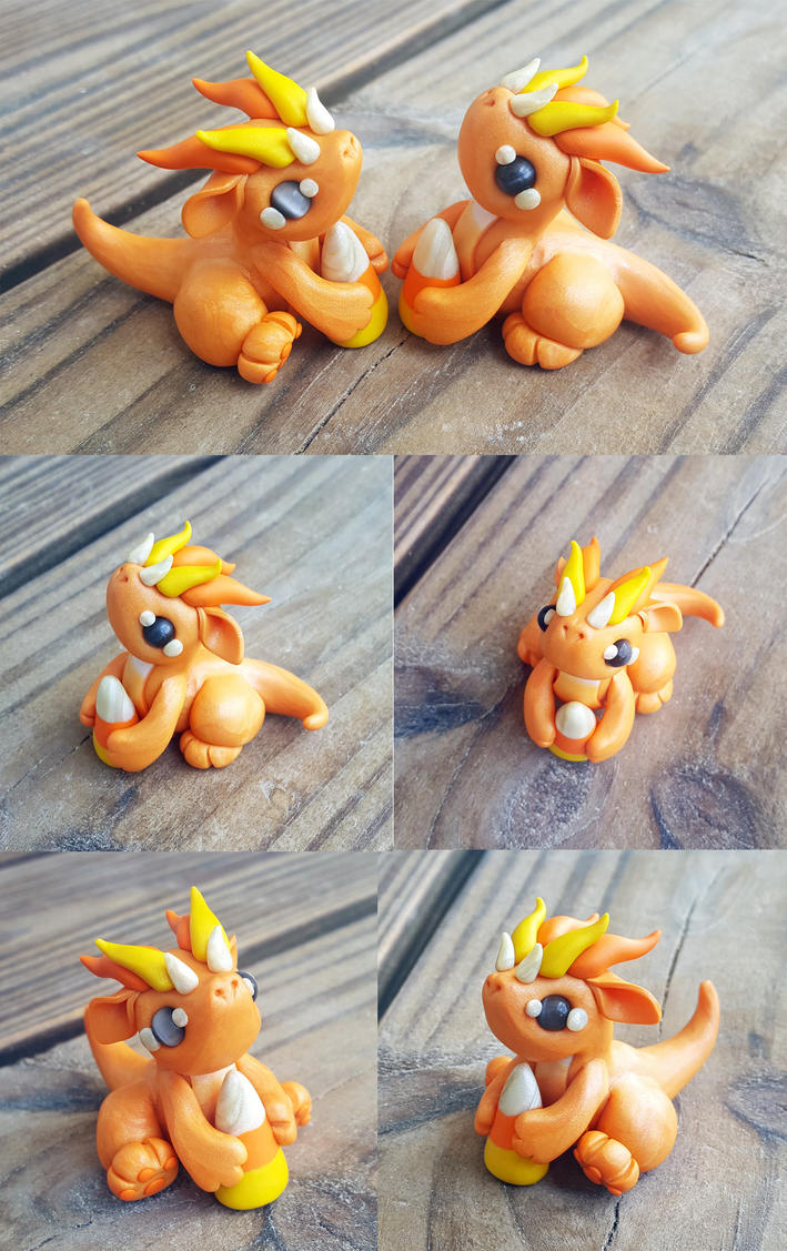Candy Corn Minis by Shemychan