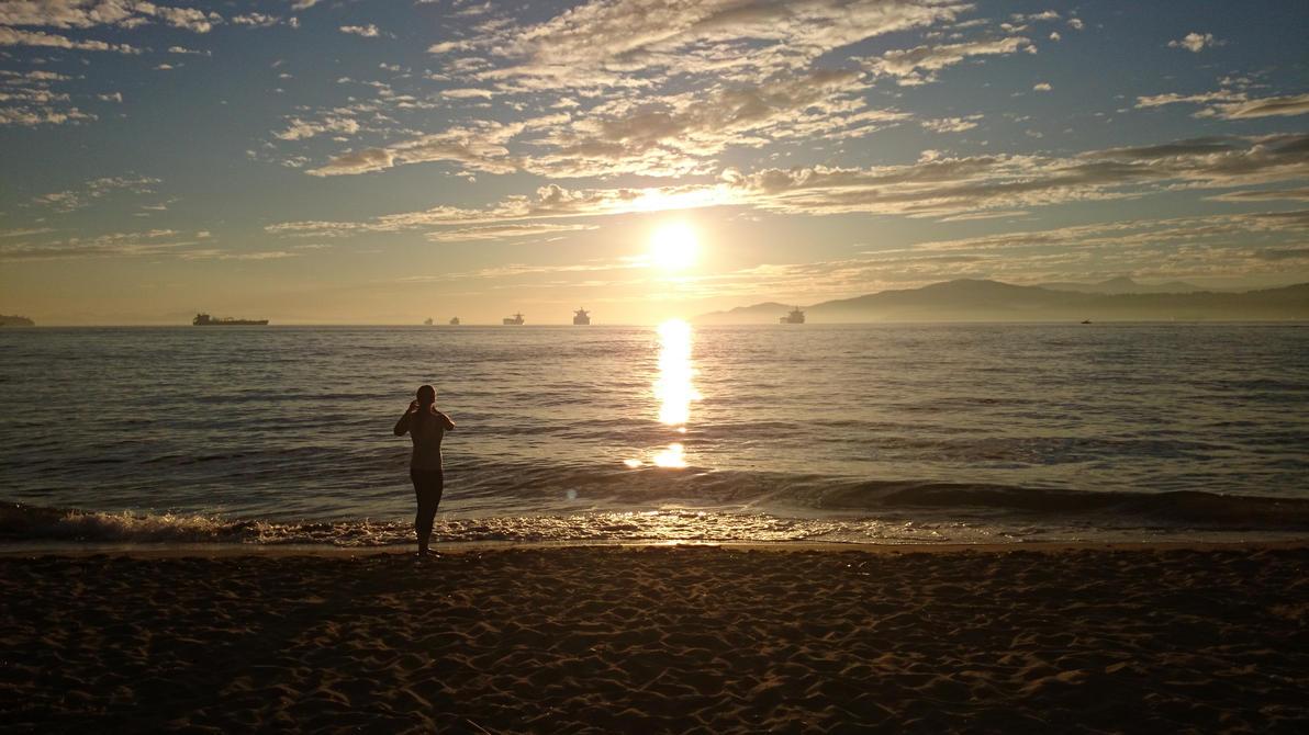 Insta sunset by duke