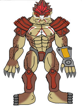 Buff wrex in armor