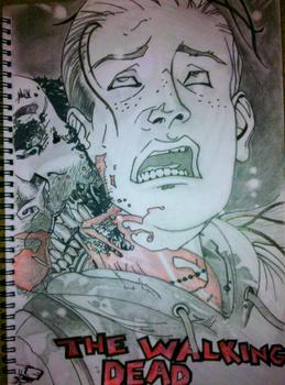 Walking Dead - First sketch in 16 Years.