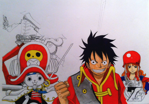 The One Piece Gang - another work in progress!