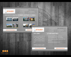Construction company leaflet by lys036
