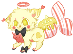 [CLOSED!] Buttery Popcorn Maid Fox SET PRICE