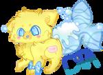 [DTA] Bath Time Themed Maid Fox! CLOSED!
