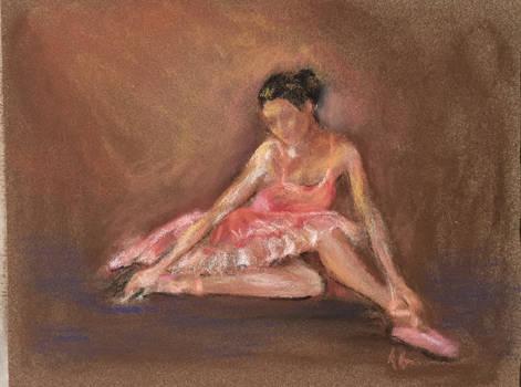 Ballerina pastel
