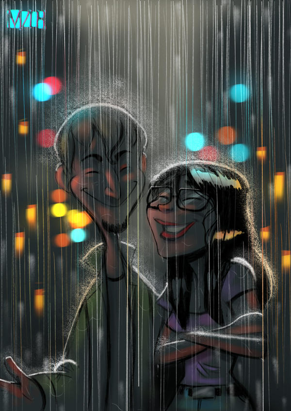 Rain  by MZ09