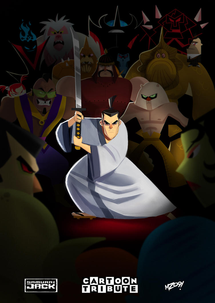 Cartoon Tribute - Samurai Jack by MZ09