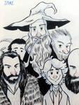hobbit - inks