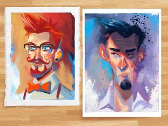 Portraits by MZ09