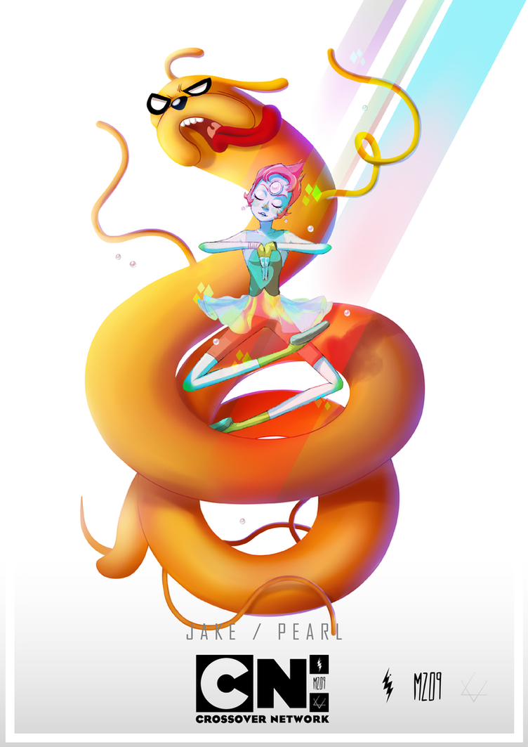 Crossover Network: Jake and Pearl by MZ09