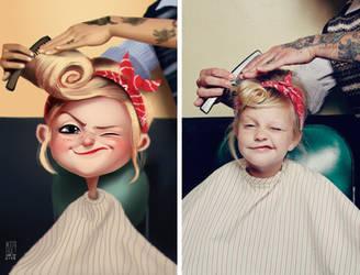 Little cute girl by MZ09