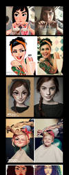 Portraits - compilation by MZ09