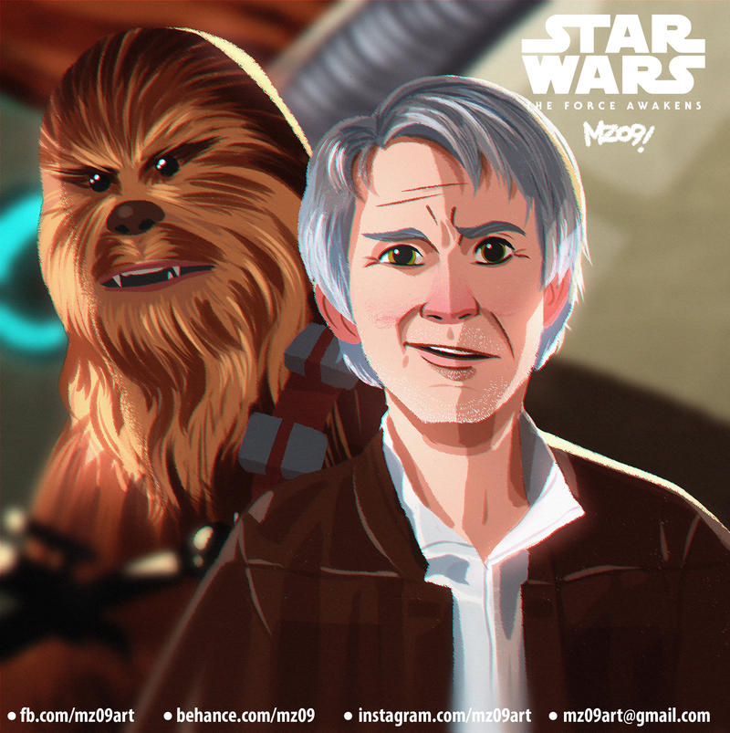 Han And Chewie by MZ09