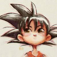 Goku - Digital Watercolor