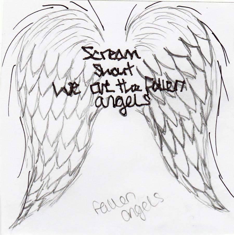 Fallen Angel Drawings ...