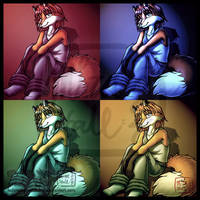 4 Moods of Tod by MiraKHall