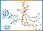 Foxtaur Chatting
