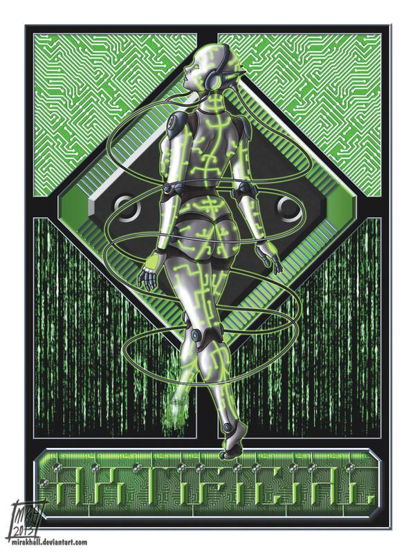 Cyber Nouveau by MiraKHall